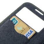 Okýnkové peněženkové pouzdro na mobil Samsung Galaxy S4 - zelené - 7/7