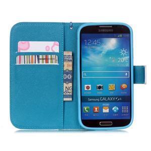 Knížkové koženkové pouzdro na Samsung Galaxy S4 - láska - 7