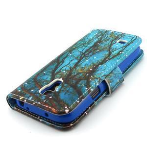 Diaryleather pouzdro na mobil Samsung Galaxy S4 mini - větve stromu - 7