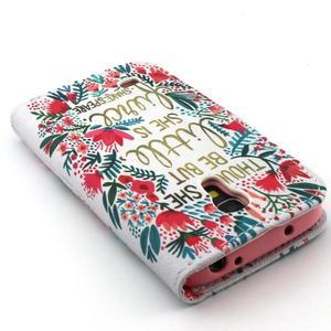 Diaryleather pouzdro na mobil Samsung Galaxy S4 mini - Shakespeare - 7