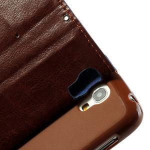 Jeans stylové pouzdro na mobil Samsung Galaxy S4 mini - tmavěmodré - 7
