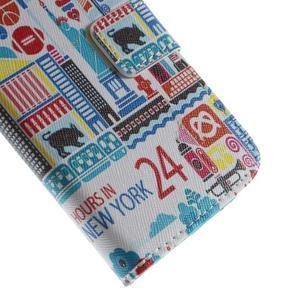 Style peněženkové pouzdro na Samsung Galaxy S4 mini - New York - 7