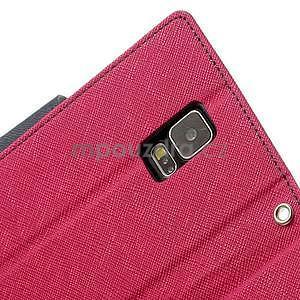 Diary peněženkové pouzdro na Samsung Galaxy S5 - rose - 7