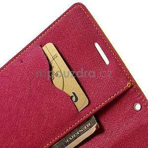 Diary peněženkové pouzdro na Samsung Galaxy S5 - žluté - 7