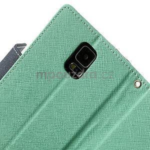 Diary peněženkové pouzdro na Samsung Galaxy S5 - azurové - 7