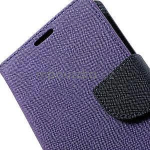 Diary peněženkové pouzdro na Samsung Galaxy S5 - fialové - 7