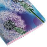 Ochranné koženkové pouzdro na Samsung Galaxy Tab E 9.6 - odkvetlá pampeliška - 7/7