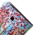 Ochranné koženkové pouzdro na Samsung Galaxy Tab E 9.6 - strom - 7/7