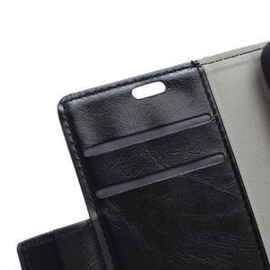 Horse PU kožené pouzdro na Sony Xperia X - černé - 7