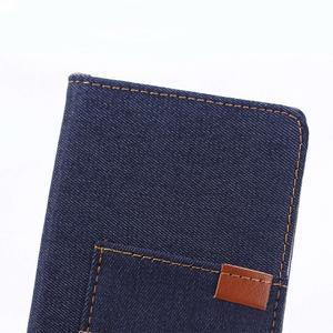 Jeans peněženkové pouzdro na Sony Xperia X - tmavěmodré - 7