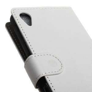 Walle peěnženkové pouzdro na Sony Xperia X - bílé - 7