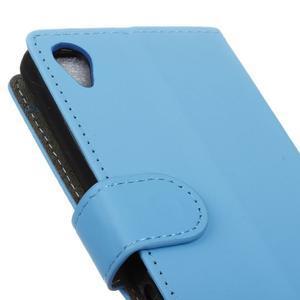 Walle peněženkové pouzdro na Sony Xperia X - světlemodré - 7