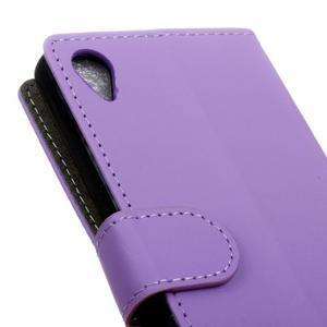 Walle peněženkové pouzdro na Sony Xperia X - fialové - 7