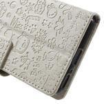 Cartoo peněženkové pouzdro na mobil Sony Xperia XA - bílé - 7/7