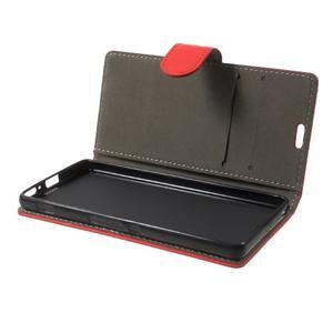 Cardy pouzdro na mobil Sony Xperia XA - červené - 7