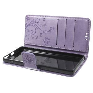 Butterfly pouzdro na mobil Sony Xperia XA - fialové - 7