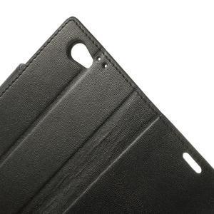 Sonata PU kožené pouzdro na mobil Sony Xperia Z1 Compact - černé - 7