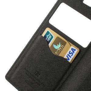 Okýnkové pouzdro na mobil Sony Xperia Z1 - tmavěmodré - 7
