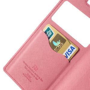 Okýnkové pouzdro na mobil Sony Xperia Z1 - rose - 7