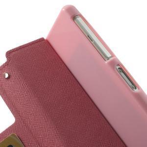 Okýnkové pouzdro na mobil Sony Xperia Z2 - rose - 7