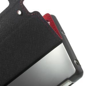 Okýnkové pouzdro na mobil Sony Xperia Z2 - červené - 7