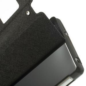 Okýnkové pouzdro na mobil Sony Xperia Z2 - černé - 7