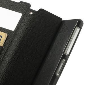 Okýnkové pouzdro na mobil Sony Xperia Z2 - tmavěmodré - 7