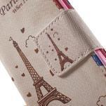 Pictu peněženkové pouzdro na Sony Xperia Z3 Compact - Eiffelova věž - 7/7