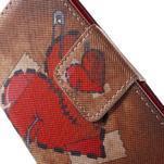Pictu peněženkové pouzdro na Sony Xperia Z3 Compact - zlomené srdce - 7/7