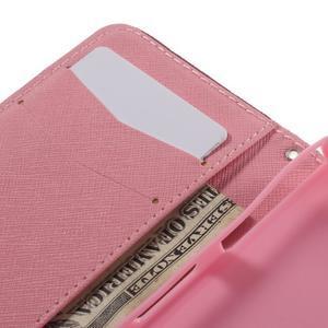 Knížkové pouzdro na mobil Sony Xperia Z3 Compact - zamilovaní ptáčci - 7