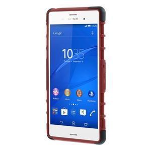 Outdoor ochranný kryt na mobil Sony Xperia Z3 - červený - 7