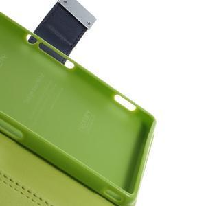 Luxury PU kožené pouzdro na mobil Sony Xperia Z3 - tmavěmodré - 7