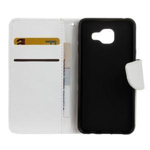 Hoor PU kožené pouzdro na mobil Samsung Galaxy A3 (2016) - bílé - 7