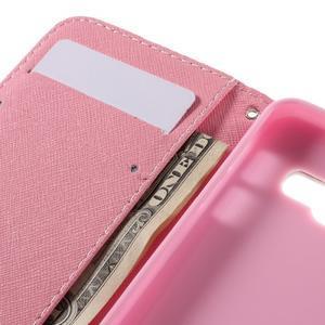 Standy peněženkové pouzdro na Samsung Galaxy A3 (2016) - soví rodinka - 7