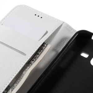 Peněženkové pouzdro na mobil Samsung Galaxy J3  (2016) - bílé - 7