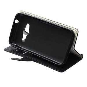 Croco peněženkové pouzdro na Samsung Galaxy Trend 2 Lite - černé - 7