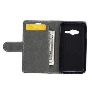 Wall peněženkové pouzdro na Samsung Galaxy Trend 2 Lite - černé - 7