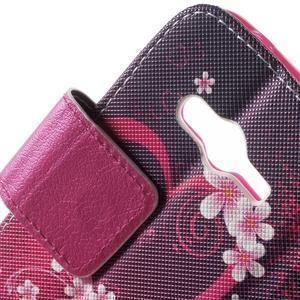 Peněženkové pouzdro na Samsung Galaxy Trend 2 Lite - srdce - 7
