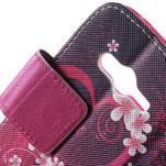 Peněženkové pouzdro na Samsung Galaxy Trend 2 Lite - srdce - 7/7