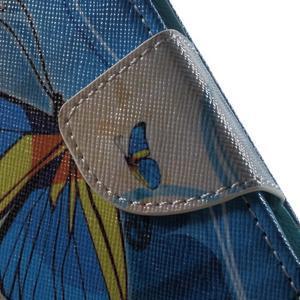 Motive pouzdro na mobil Samsung Galaxy Trend 2 Lite - modrý motýl - 7