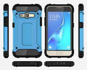 Armory odolný obal na mobil Samsung Galaxy J1 (2016) - modrý - 7