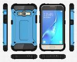 Armory odolný obal na mobil Samsung Galaxy J1 (2016) - modrý - 7/7