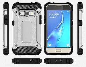 Armory odolný obal na mobil Samsung Galaxy J1 (2016) - stříbrný - 7