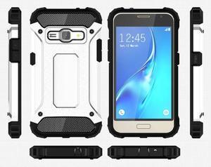 Armory odolný obal na mobil Samsung Galaxy J1 (2016) - bílý - 7