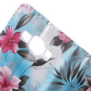 Koženkové pouzdro na mobil Samsung Galaxy J5 - modré pozadí - 7