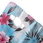 Koženkové pouzdro na mobil Samsung Galaxy J5 - modré pozadí - 7/7