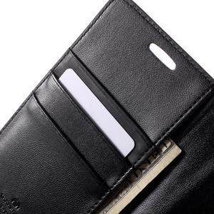Diary PU kožené pouzdro na mobil Samsung Galaxy S6 -černé - 7