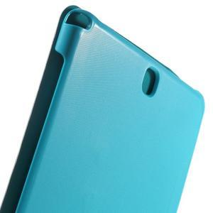 Trifold polohovatelné pouzdro na Samsung Galaxy Tab A 9.7 - světlemodré - 7