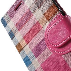 Módní stylové pouzdri na Samsung Galaxy S6 - rose - 7