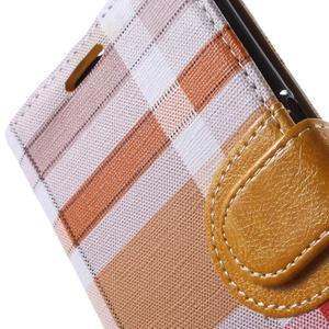 Módní stylové pouzdri na Samsung Galaxy S6 - oranžové - 7